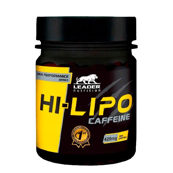 Hi-Lipo Caffeine (120 Capsulas) Leadernutrition