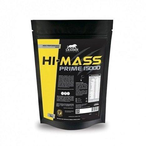 Hi-Prime Mass 15000 Morango 3Kg Leader Nutrition