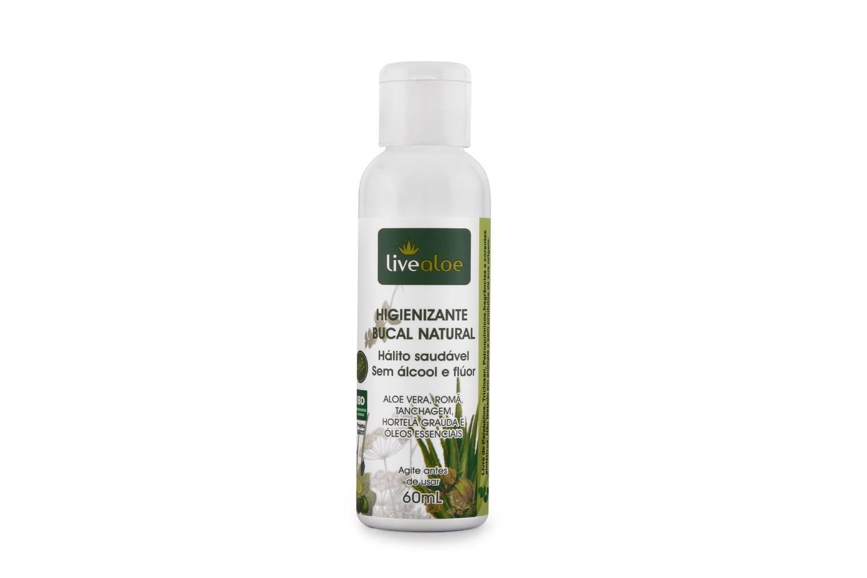 Enxaguante e Antisséptico - Higienizante Bucal 60mL