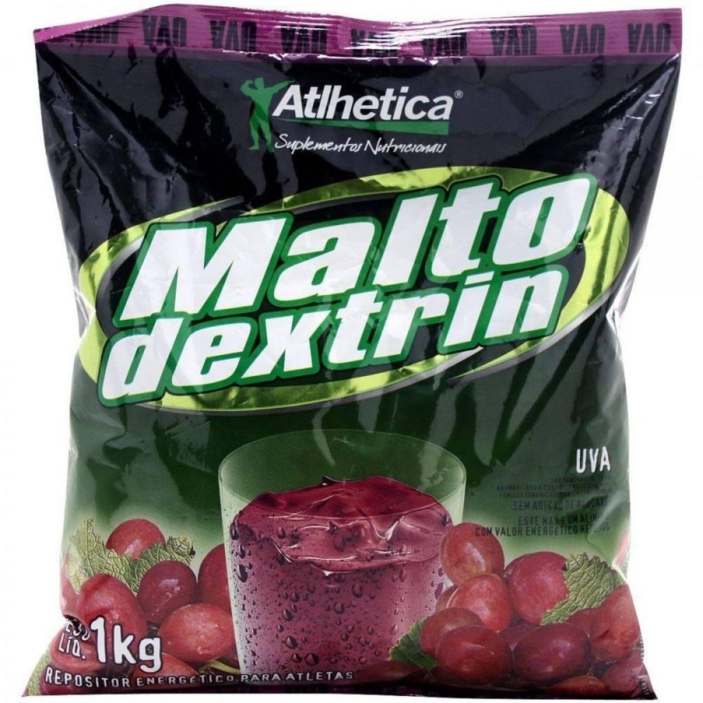 Hipercalórico Maltodextrin 1Kg Rf Uva Athletica