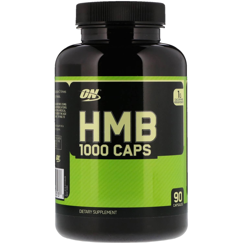 Hmb 1000mg Optimum Nutrition 90caps Importado Eua Massa Muscular