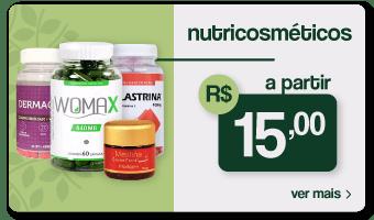 Nutricosméticos a partir de R$15,00, confira!