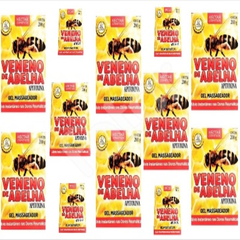 Kit Com 12 Cremes Veneno De Abelha - 200Gr