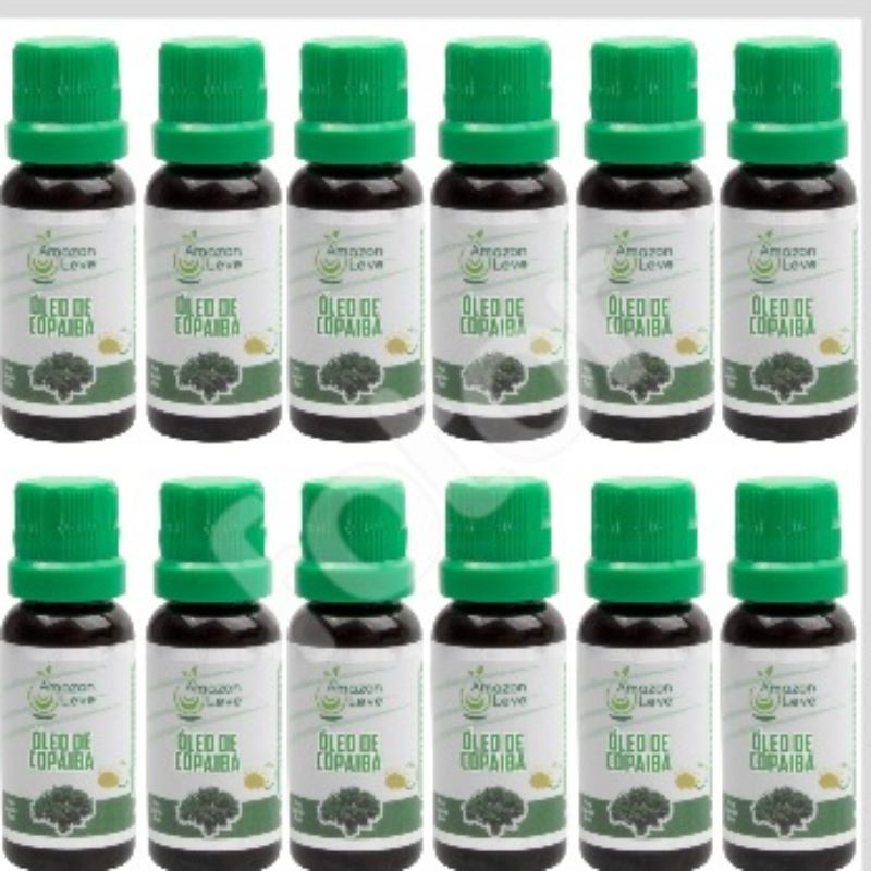 Kit Com 12 Óleos De Copaiba – 20Ml