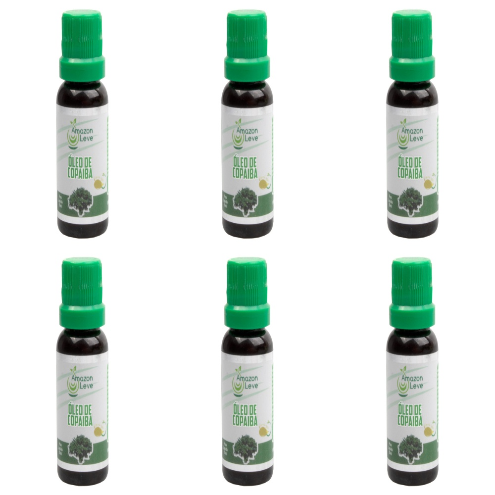 Kit Com 6 Óleos De Copaiba – 20Ml