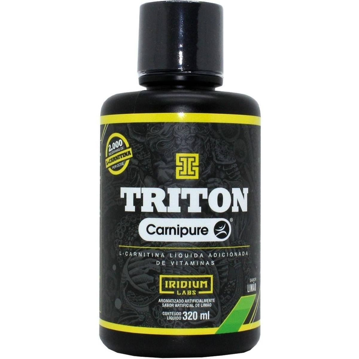 L-Carnitina Triton 320Ml Limão Iridium Labs