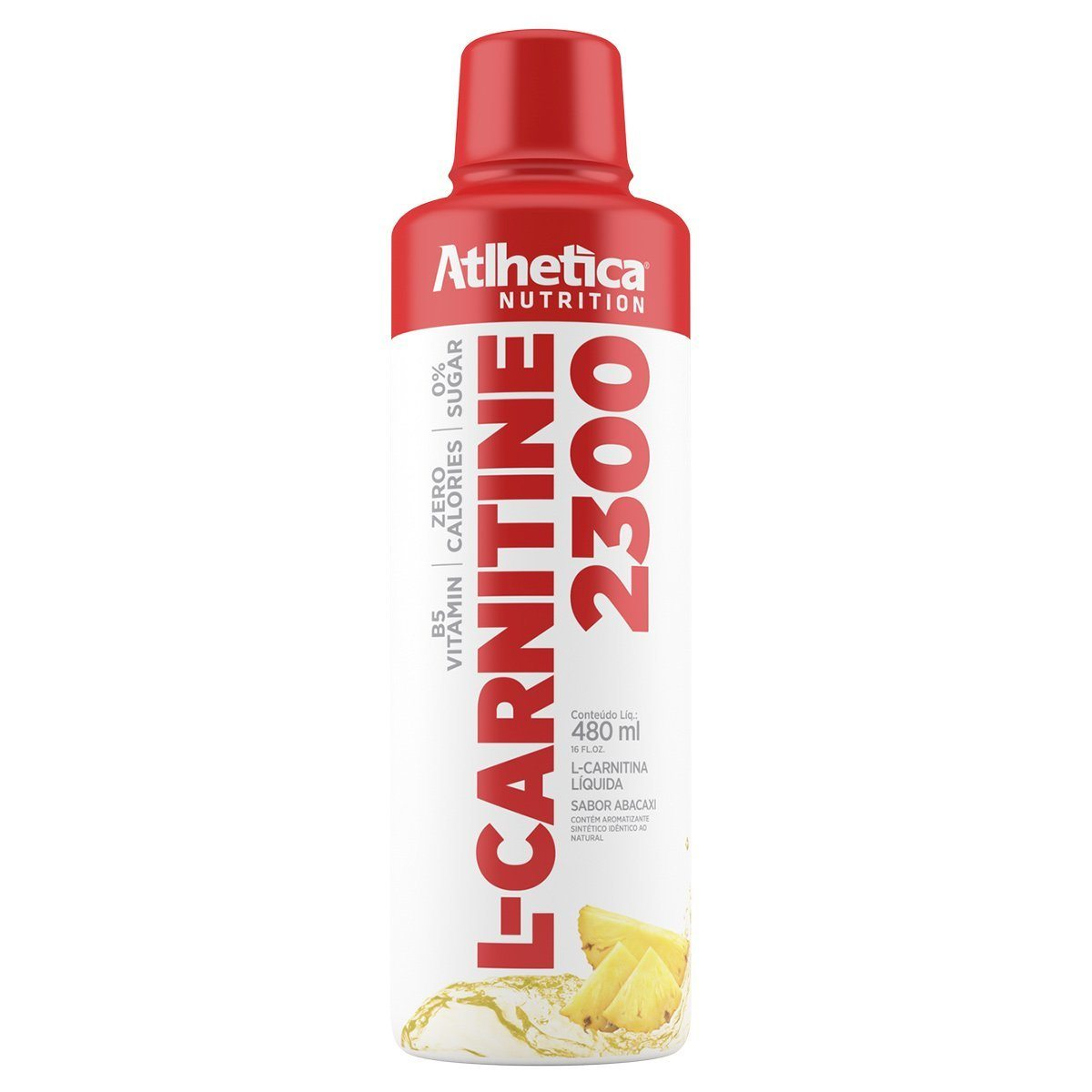 L-Carnitine 2300 480Ml Abacaxi Athletica Nutrition