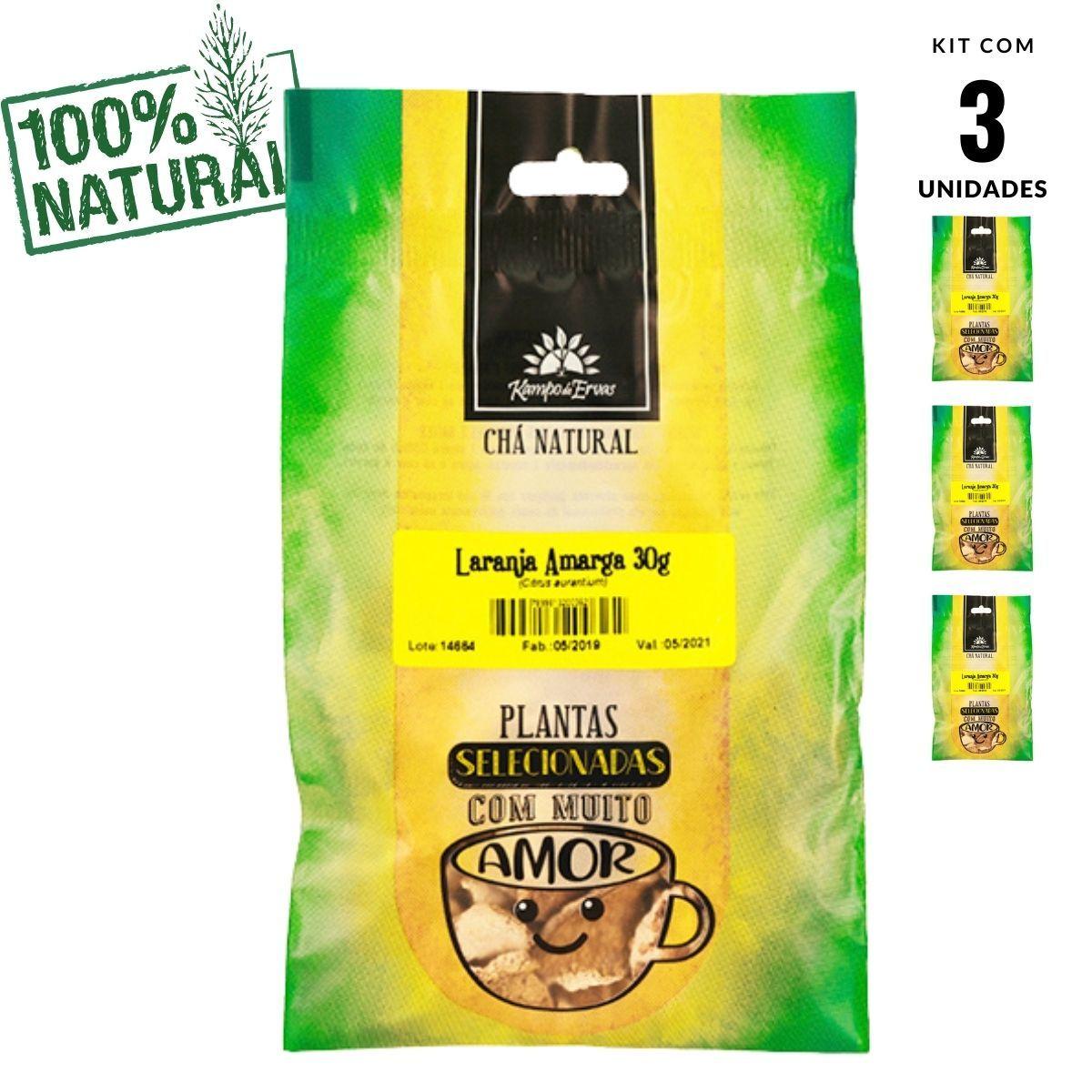 Laranja Amarga Chá só da Casca Kampo de Ervas 3 und 30g cada
