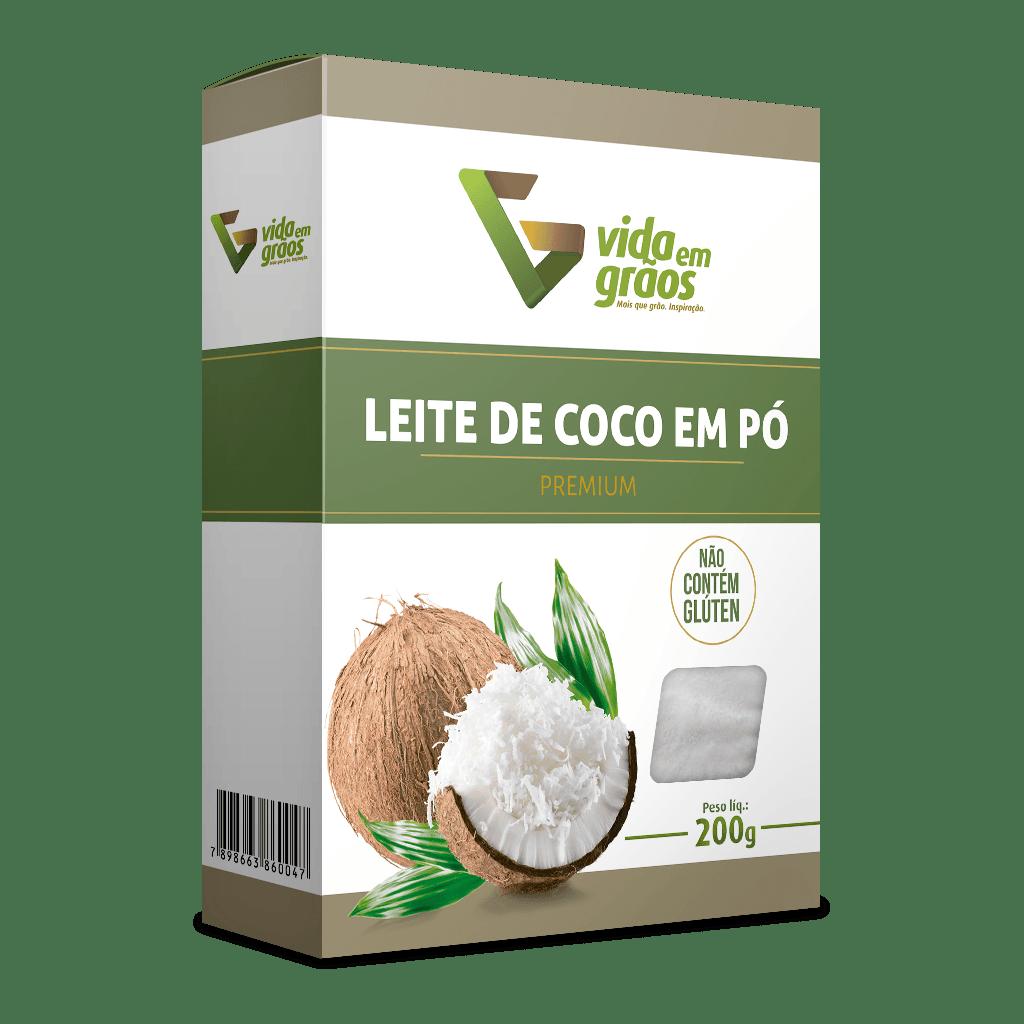 Leite De Coco Em Pó Premium 200g - Vida Em Grãos
