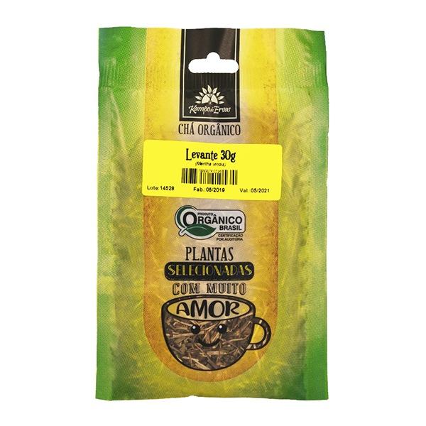 Levante Chá Orgânico 100% Folhas Kampo Ervas 3 und 30g cada