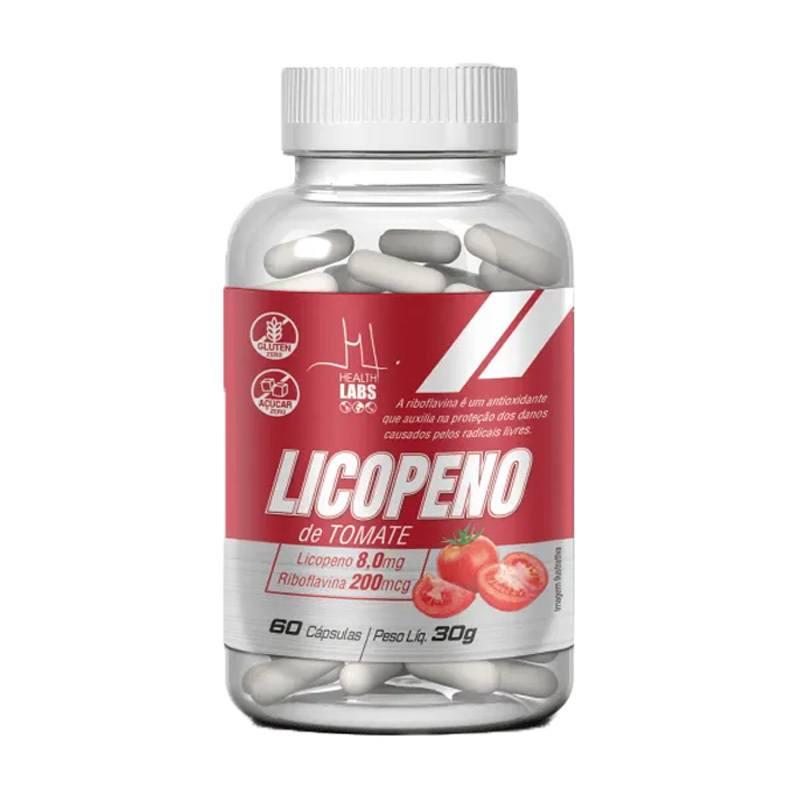 Licopeno De Tomate 60 Caps Desincha Próstata Riboflavina