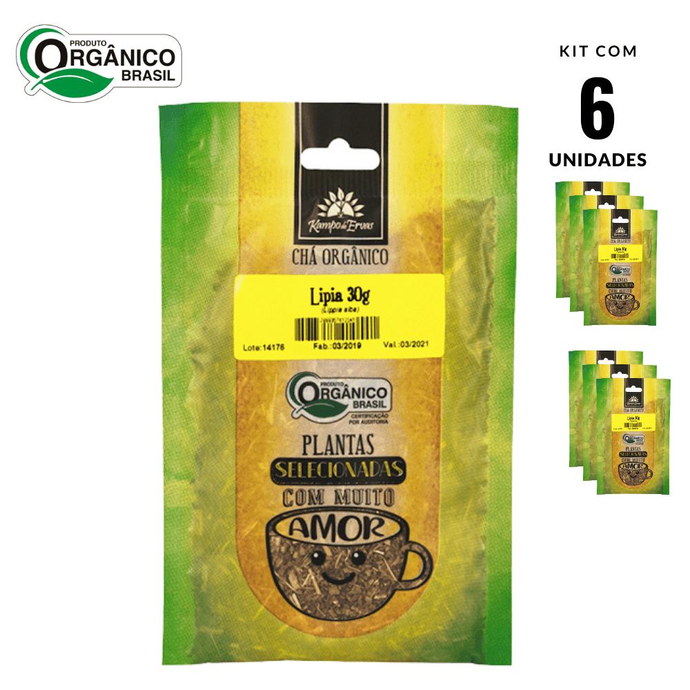 Lípia Chá Orgânico Kampo de Ervas 6 und com 30 g cada