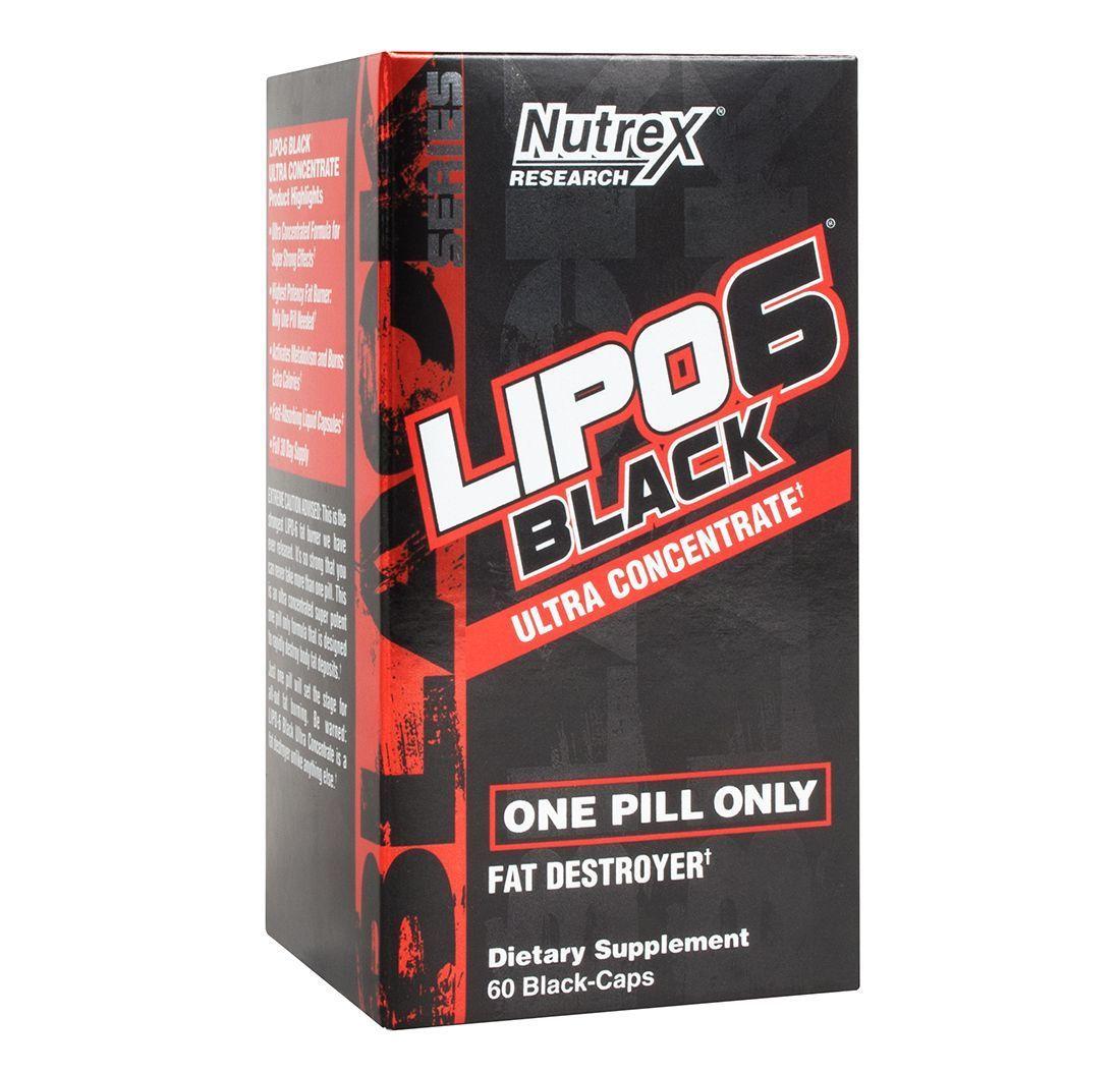 Lipo 6 Black Ultra Concentrado (60 Caps) - Nutrex