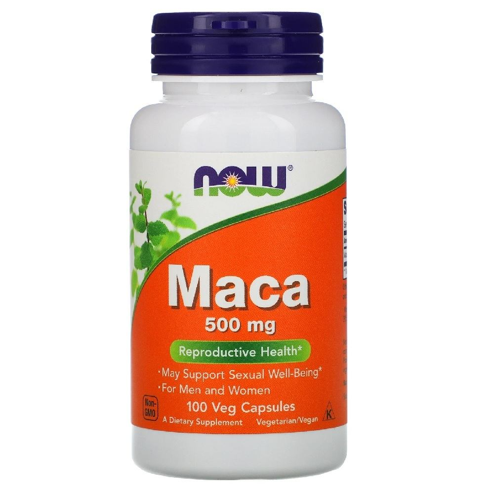 Maca Peruana 500 mg 100 Cáps. Now Foods