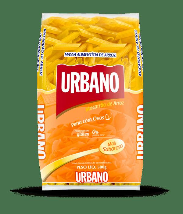 Macarrão de Arroz Penne sem Glúten – Urbano – 500g
