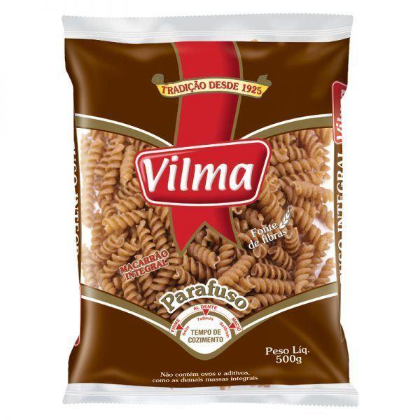 Macarrão Integral Parafuso – Vilma – 500g