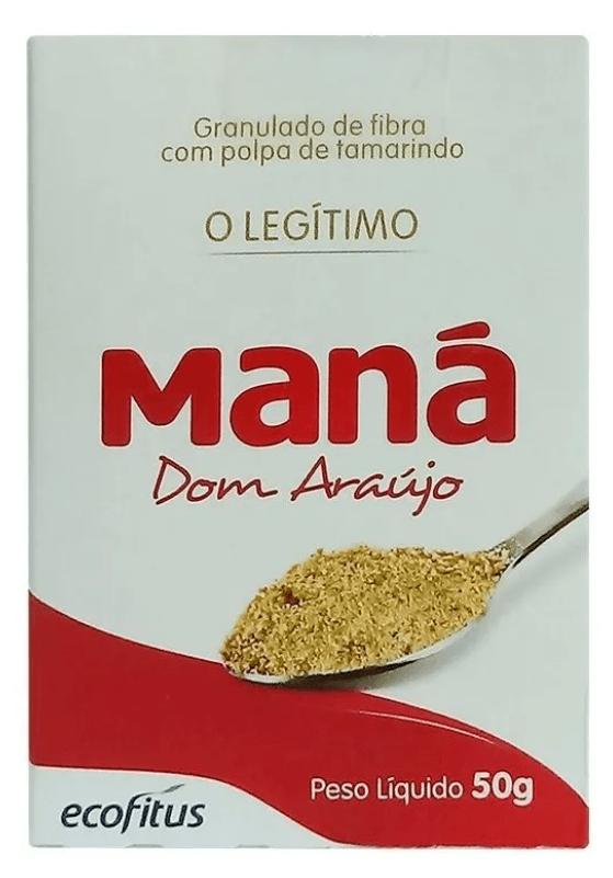 Maná Dom Araújo Legítimo Pó 50g Ecofitus
