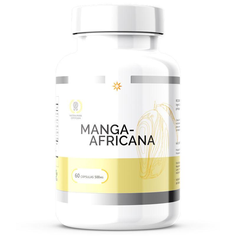 Manga Africana - Extrato Seco - 500mg 60 Cápsulas