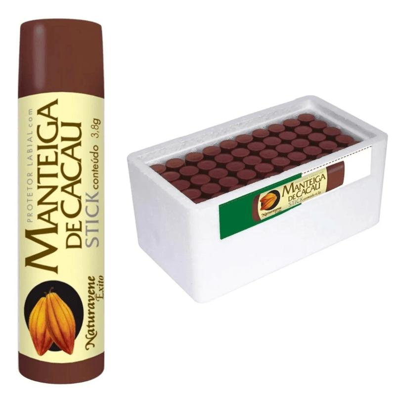 Manteiga De Cacau Stick 50 Unidades - Naturavene
