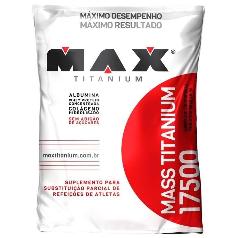 Mass 17500 1,4Kg Baunilha Max Titanium