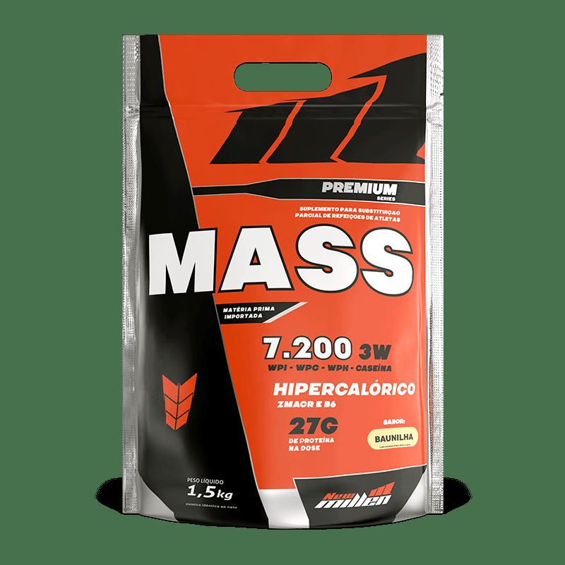 Mass Premium 7200 - 1500G Refil Baunilha New Millen