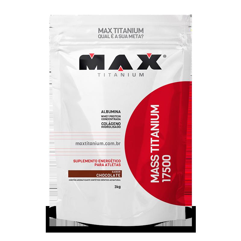Mass Titanium 17500 3Kg Chocolate Max Titanium