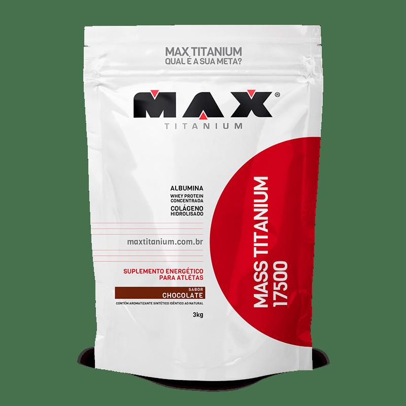 Mass Titanium 17500 3Kg Max Morango Titanium