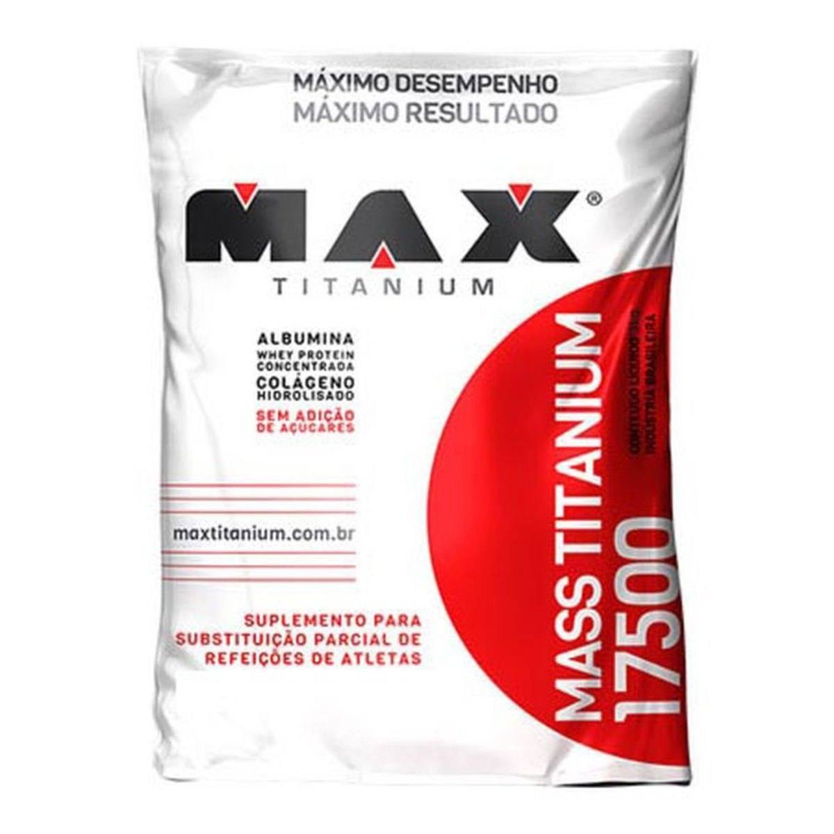 Mass Titanium 17500 3Kg Torta De Limao Max Titanium