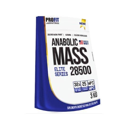 Massa Anabolic Mass 3Kg Chocolate Profit Labs