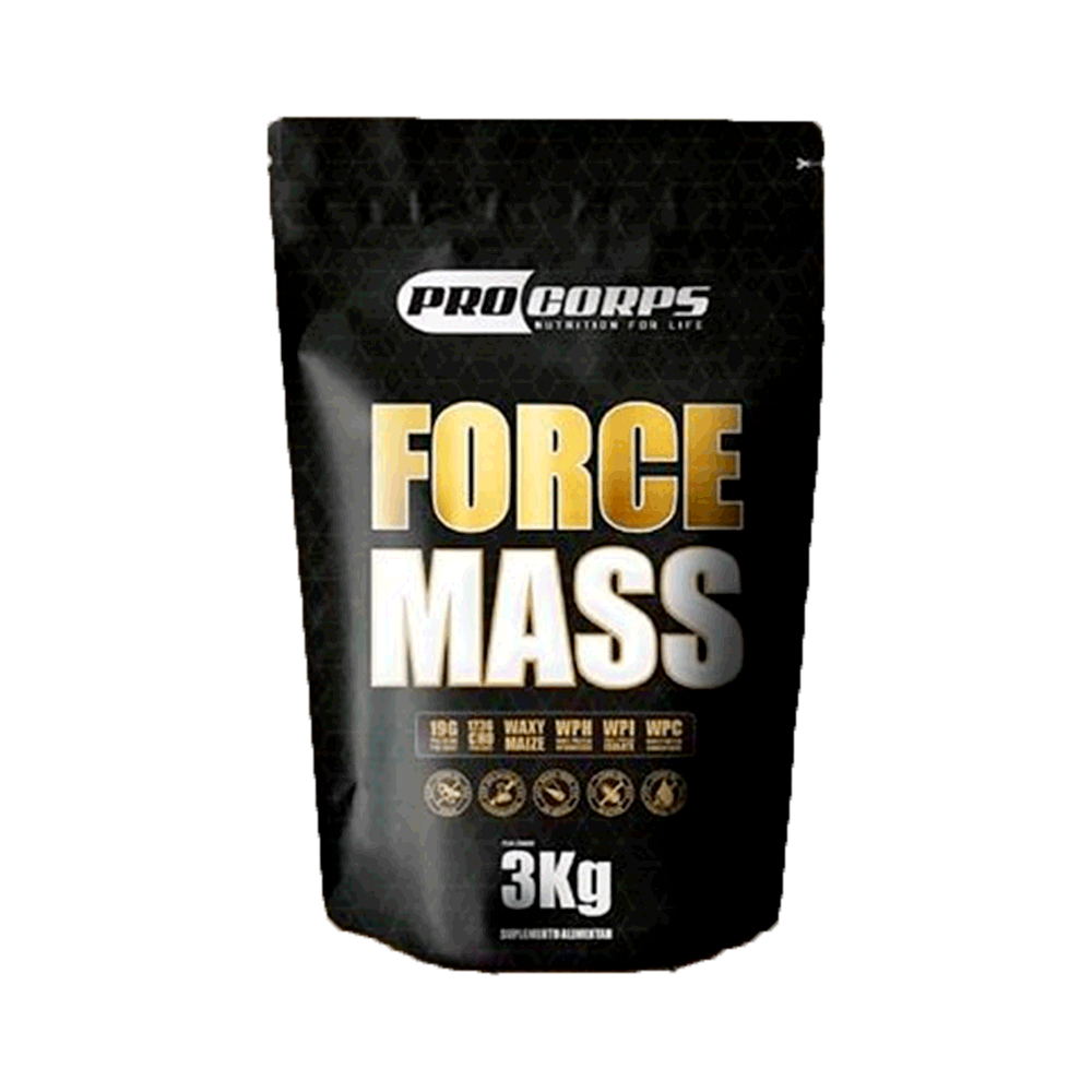 Massa Force Mass 3Kg Baunilha - ProCorps