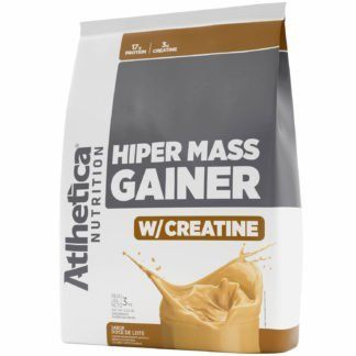 Massa Hiper Mass Gainer C/ Creatina 3Kg Doce De Leite