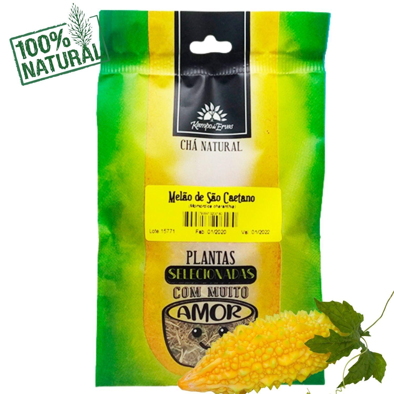 Melão de São Caetano Chá só Folhas Kampo de Ervas 30 gramas