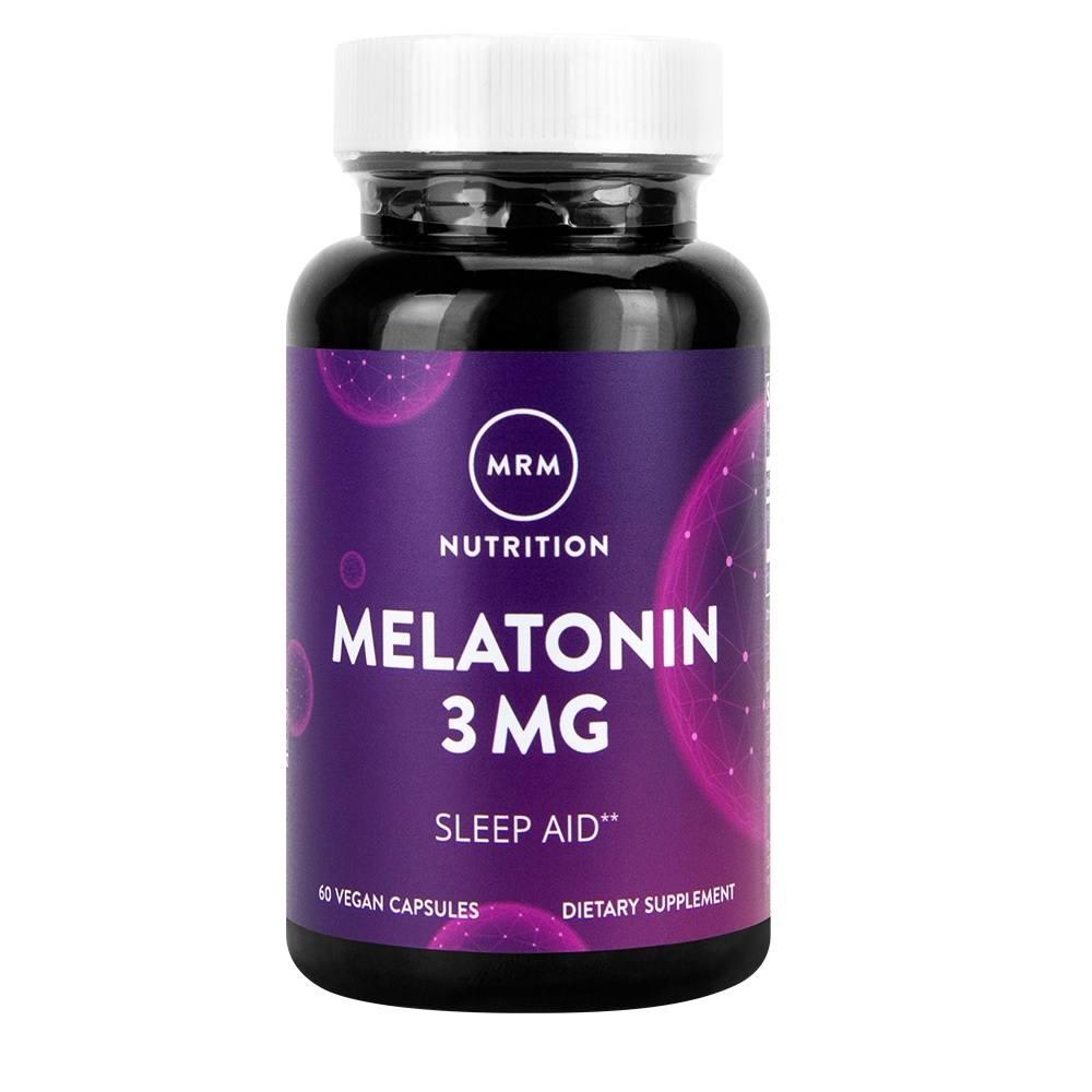Melatonin 3 mg 60 Cáps. MRM