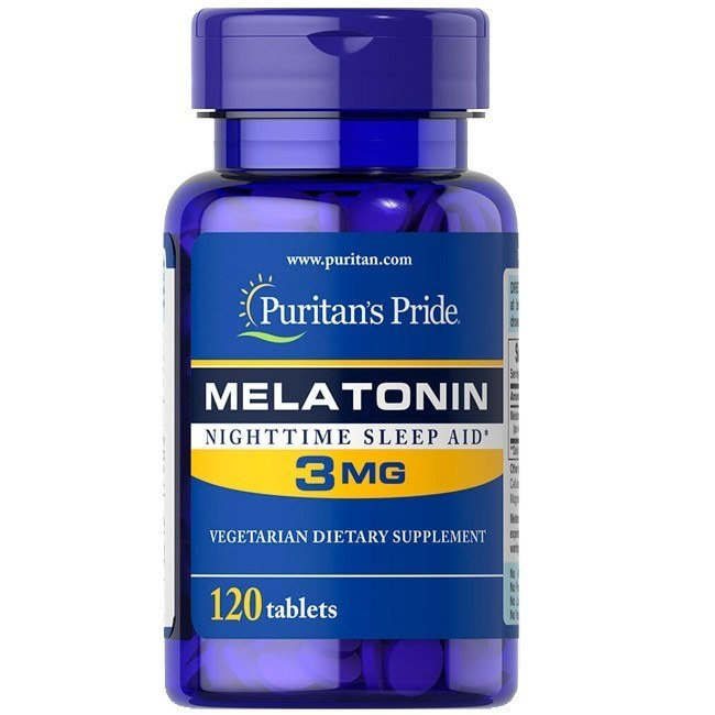 Melatonina 3mg (120 tabletes) - Puritan's Pride