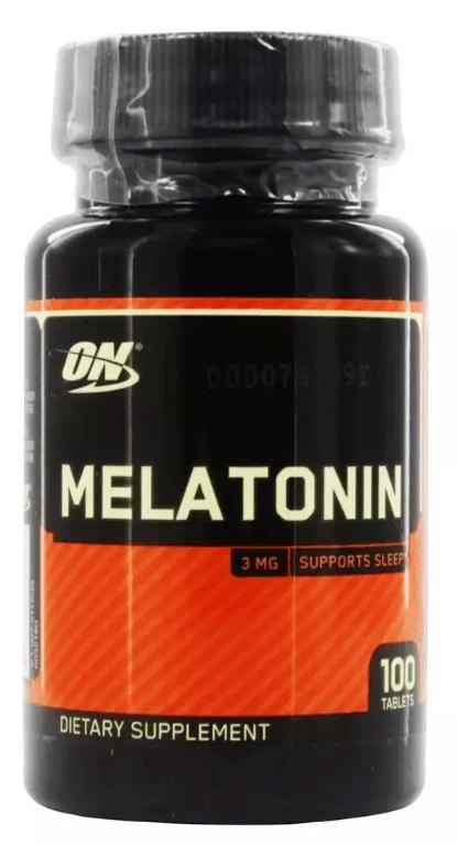 Melatonina 3mg - Optimum Nutrition (100 CÁPSULAS) na PROMOÇÃO