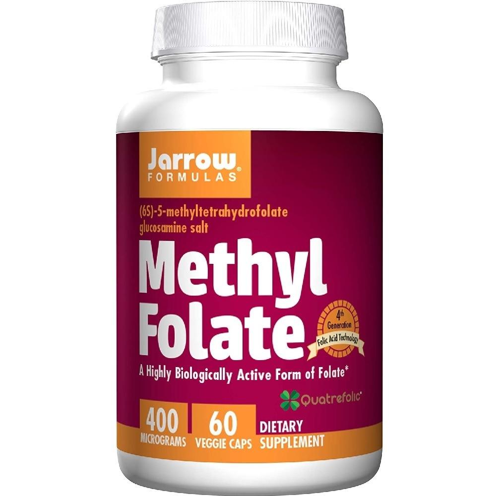 Methyl Folate 400 mcg 60 Cáps. Jarrow