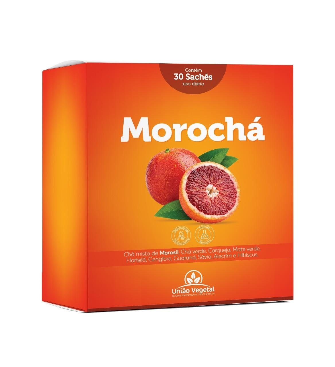MOROCHA - CHÁ EMAGRECEDOR DE MOROSIL - CX COM 30 SACHÊS