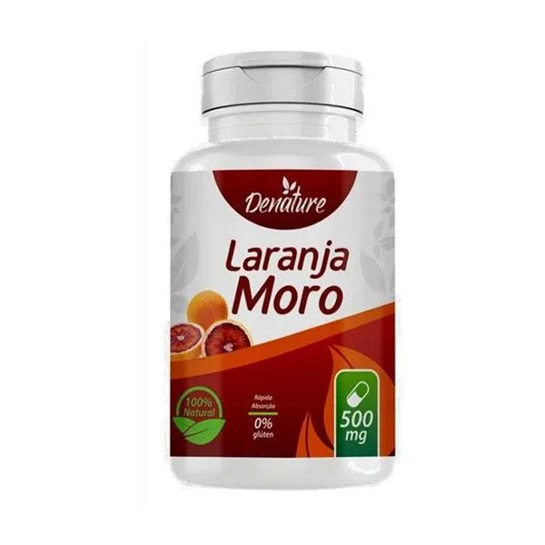 Morosil Laranja Moro Emagrecedor 500mg 100 Caps Natural - Denature