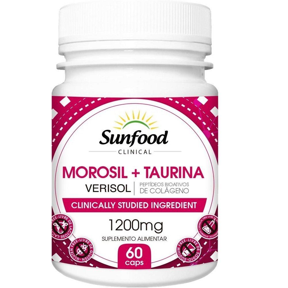 Morosil Taurina Verisol 1200 mg 60 Cáps. Sunfood