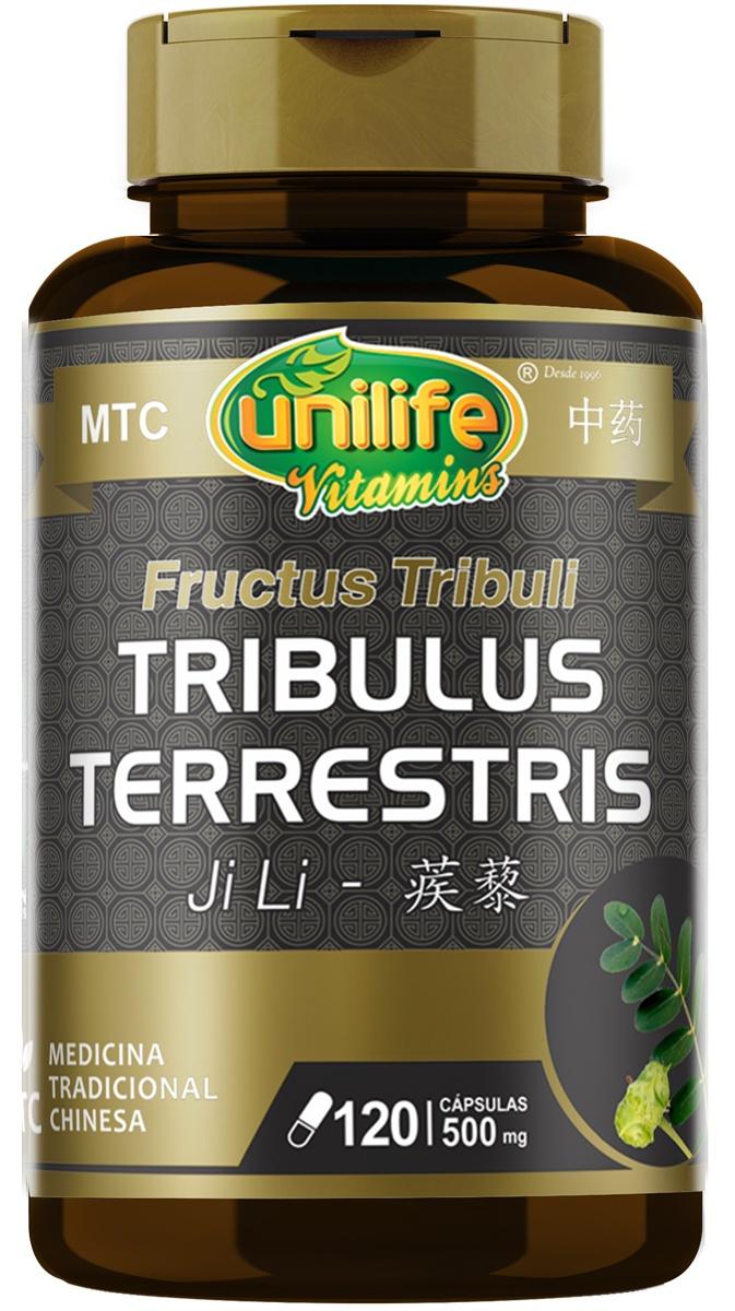 Tribulus Terrestris 500mg  120 cápsulas MTC- Unilife