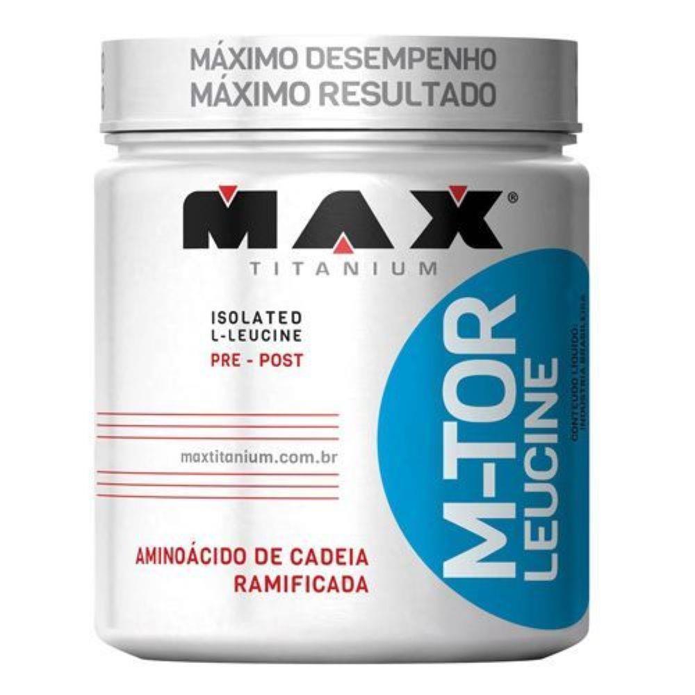 Mtor Leucine Pote 100Gr Max Titanium