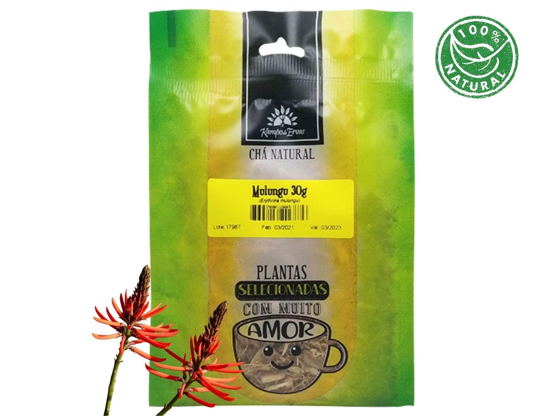 Mulungu Chá da Casca Pura Kampo de Ervas 30g