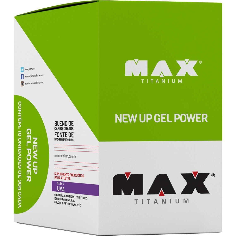 New Up Gel Power Max Titanium Uva