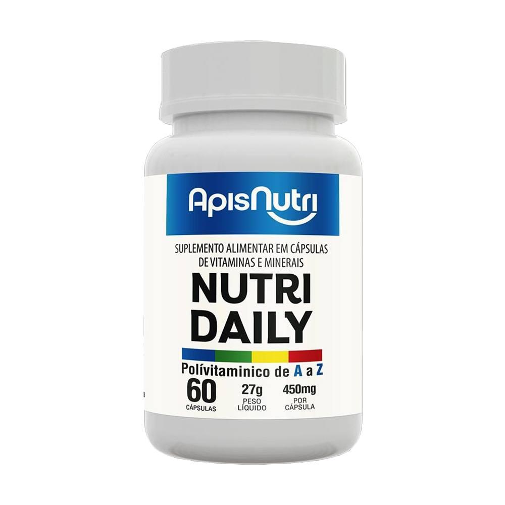 Nutri Daily Polivitamínico A - Z 450mg 60 caps - Aspinutri