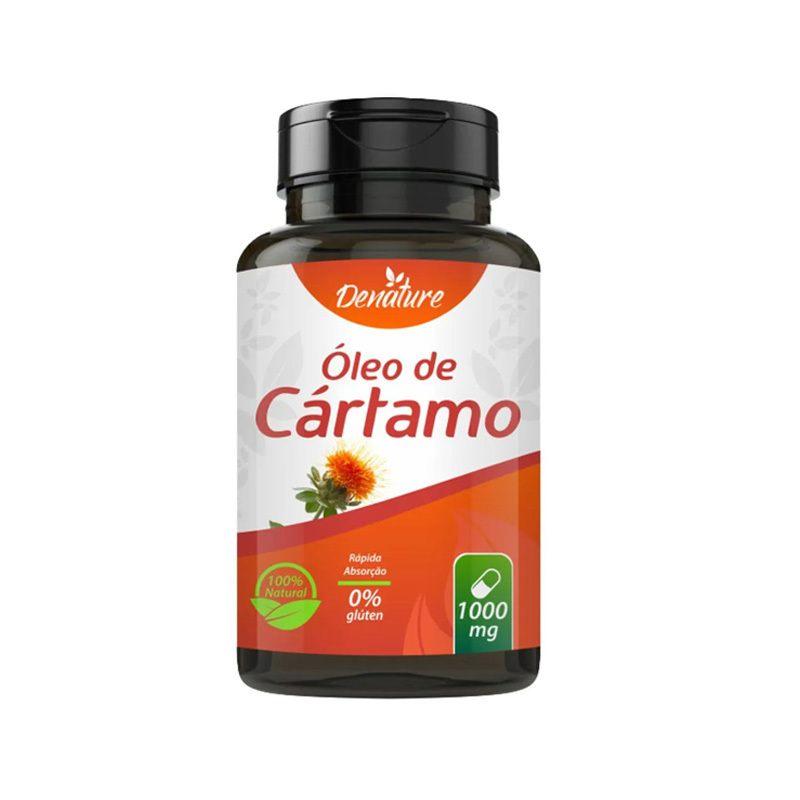 Óleo de Cártamo 1000mg 100 softgel - Denature melhora metabolismo