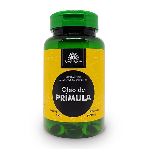 Óleo de Prímula PURO 100 % Natural 60 cápsulas de 500 mg