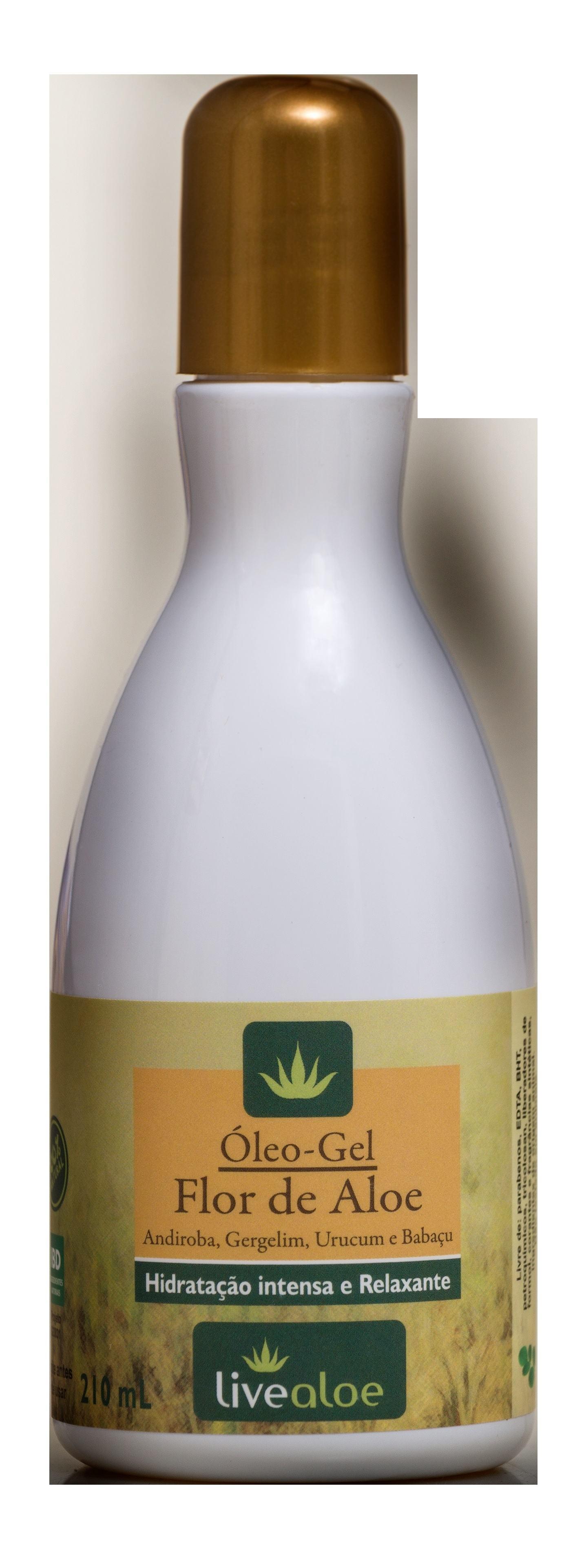 Óleo-Gel Flor de Aloe 210mL