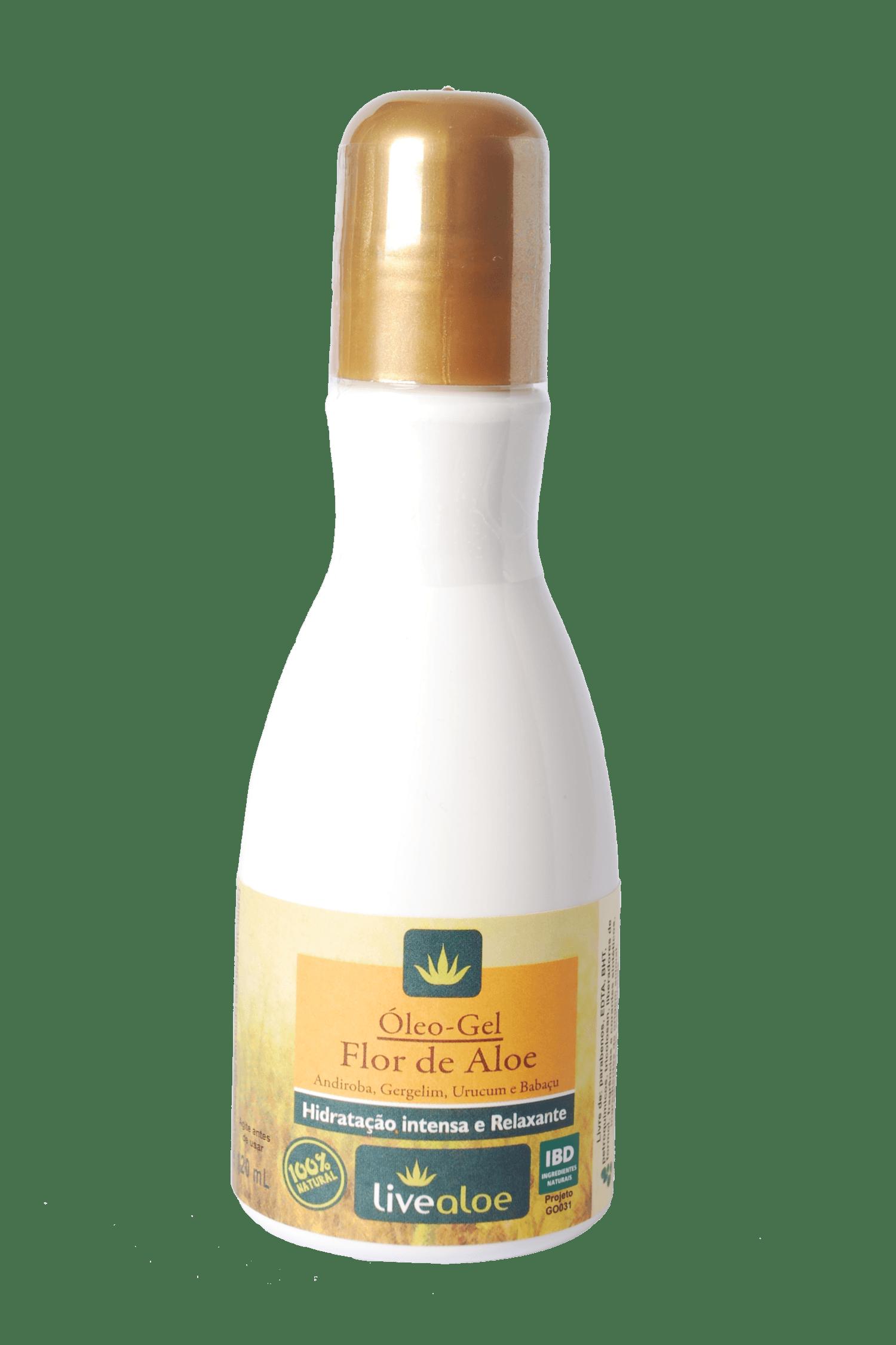Óleo-Gel Flor de Aloe 120mL