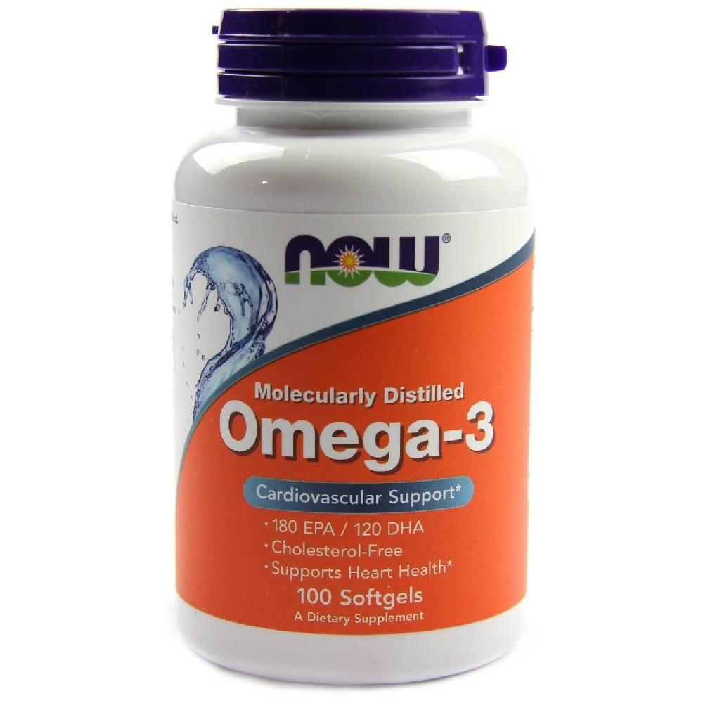 Omega 3 1000 mg 100 Softgel Now Foods