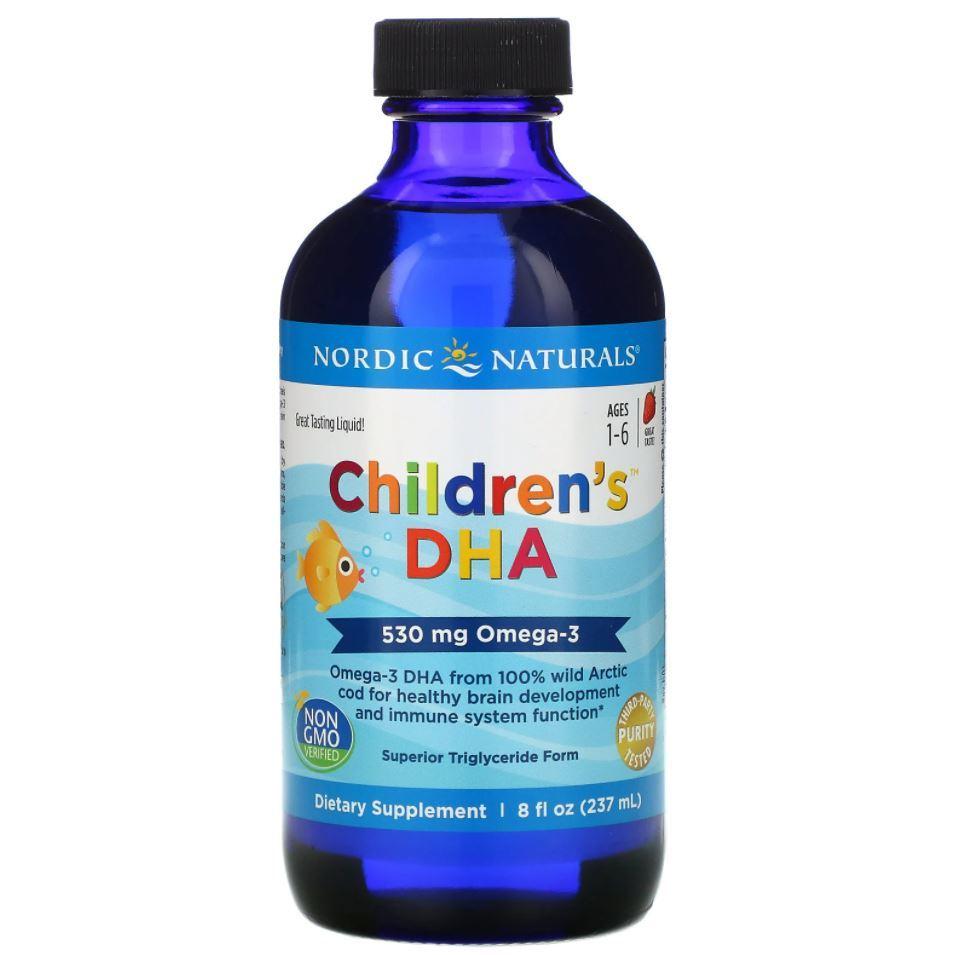 Omega 3 Infantil Childrens Dha Nordic Naturals 237ml 8oz Importado Eua